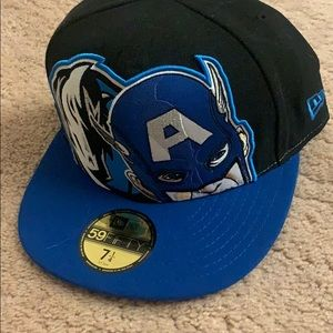 NWT NBA Dallas Mavericks Marvel New Era Cap 7 1/4
